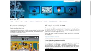 Level 1`Digital Technologies site